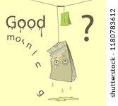 humor vector illustration with... | Shutterstock .eps vector #1180783612