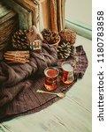 concept autumn or winter season ... | Shutterstock . vector #1180783858