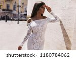 fashion dresses on the amaizing ... | Shutterstock . vector #1180784062