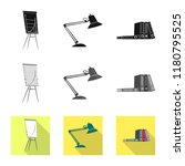 vector design of furniture and... | Shutterstock .eps vector #1180795525