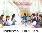 creative team of professionals... | Shutterstock . vector #1180813528