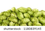 close up heap of fresh green... | Shutterstock . vector #1180839145