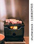 deep fried beef in tokyo  fried ...   Shutterstock . vector #1180839505