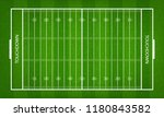 american football field. green... | Shutterstock .eps vector #1180843582