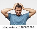 people  stress  tension and... | Shutterstock . vector #1180852288