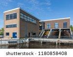 kinderdijk  the netherlands  ... | Shutterstock . vector #1180858408