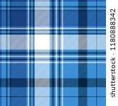 blue tartan fabric texture.... | Shutterstock .eps vector #1180888342
