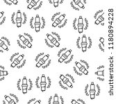 car candle cup icon in pattern...