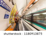 paris  france   july 17 2015 ... | Shutterstock . vector #1180913875