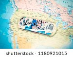 las vegas on map | Shutterstock . vector #1180921015