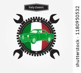 car of italy icon | Shutterstock .eps vector #1180950532