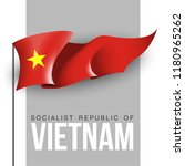 illustration banner with state...   Shutterstock . vector #1180965262