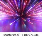 3d render  big bang  galaxy ... | Shutterstock . vector #1180973338
