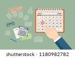 flat modern design concept of... | Shutterstock .eps vector #1180982782
