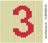 knitted silhouette figures   Shutterstock .eps vector #118098532