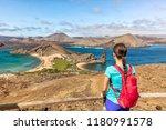 galapagos islands cruise... | Shutterstock . vector #1180991578