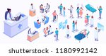 isometric illustration of... | Shutterstock .eps vector #1180992142