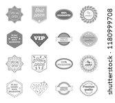 money back guarantee  vip ...   Shutterstock . vector #1180999708