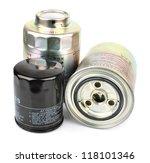 oil filter isolated on white... | Shutterstock . vector #118101346