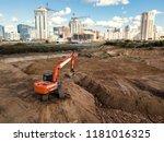 Industrial Excavator Working O...