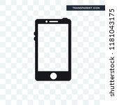 touch screen mobile phone...   Shutterstock .eps vector #1181043175