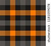 halloween tartan plaid.... | Shutterstock .eps vector #1181059078