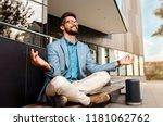 businessman   mentally...   Shutterstock . vector #1181062762
