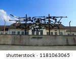 nurnberg  dachau concentration... | Shutterstock . vector #1181063065