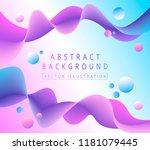 light background with abstract... | Shutterstock .eps vector #1181079445