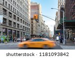 new york city   july  2018  a... | Shutterstock . vector #1181093842