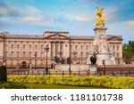 buckingham palace in london  uk | Shutterstock . vector #1181101738