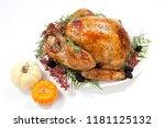 thanksgiving pepper roasted... | Shutterstock . vector #1181125132