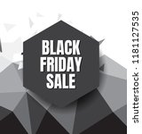 black friday sale flyer or... | Shutterstock .eps vector #1181127535