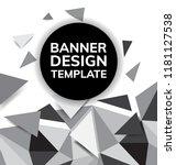 black friday sale flyer or... | Shutterstock .eps vector #1181127538