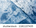 the texture of the ice. the... | Shutterstock . vector #1181137435