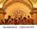 kolkata   india   september 28  ... | Shutterstock . vector #1181141545