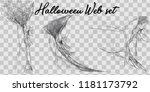 vector illustration halloween... | Shutterstock .eps vector #1181173792