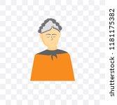 grandmother vector icon...   Shutterstock .eps vector #1181175382