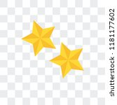 star vector icon isolated on...