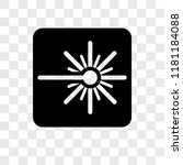 laser vector icon isolated on... | Shutterstock .eps vector #1181184088
