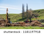 opuha  south canterbury  new... | Shutterstock . vector #1181197918