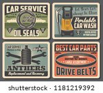 car service vintage banner set. ...   Shutterstock .eps vector #1181219392