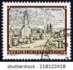 austria   circa 1990  a stamp... | Shutterstock . vector #118122418