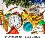 Clock Christmas Decorations On...