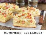 fresh homemade traditional...   Shutterstock . vector #1181235385