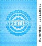 aperture water wave concept... | Shutterstock .eps vector #1181238982