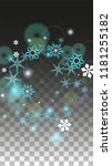 new year vector background with ... | Shutterstock .eps vector #1181255182