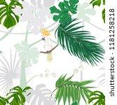 seamless pattern  background.... | Shutterstock .eps vector #1181258218