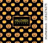 halloween seamless pattern | Shutterstock .eps vector #1181276275