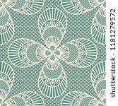 seamless decorative lace... | Shutterstock .eps vector #1181279572